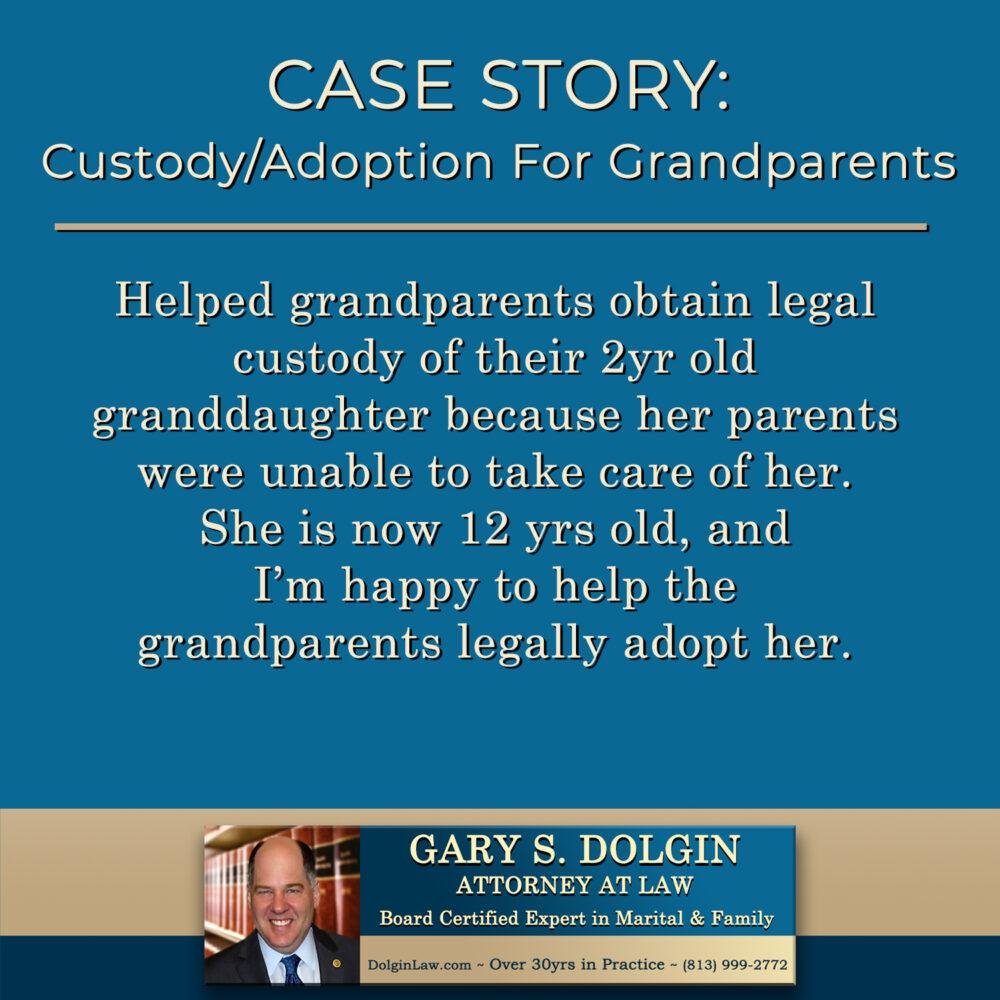 Child Custody for Grandparents Tampa Florida