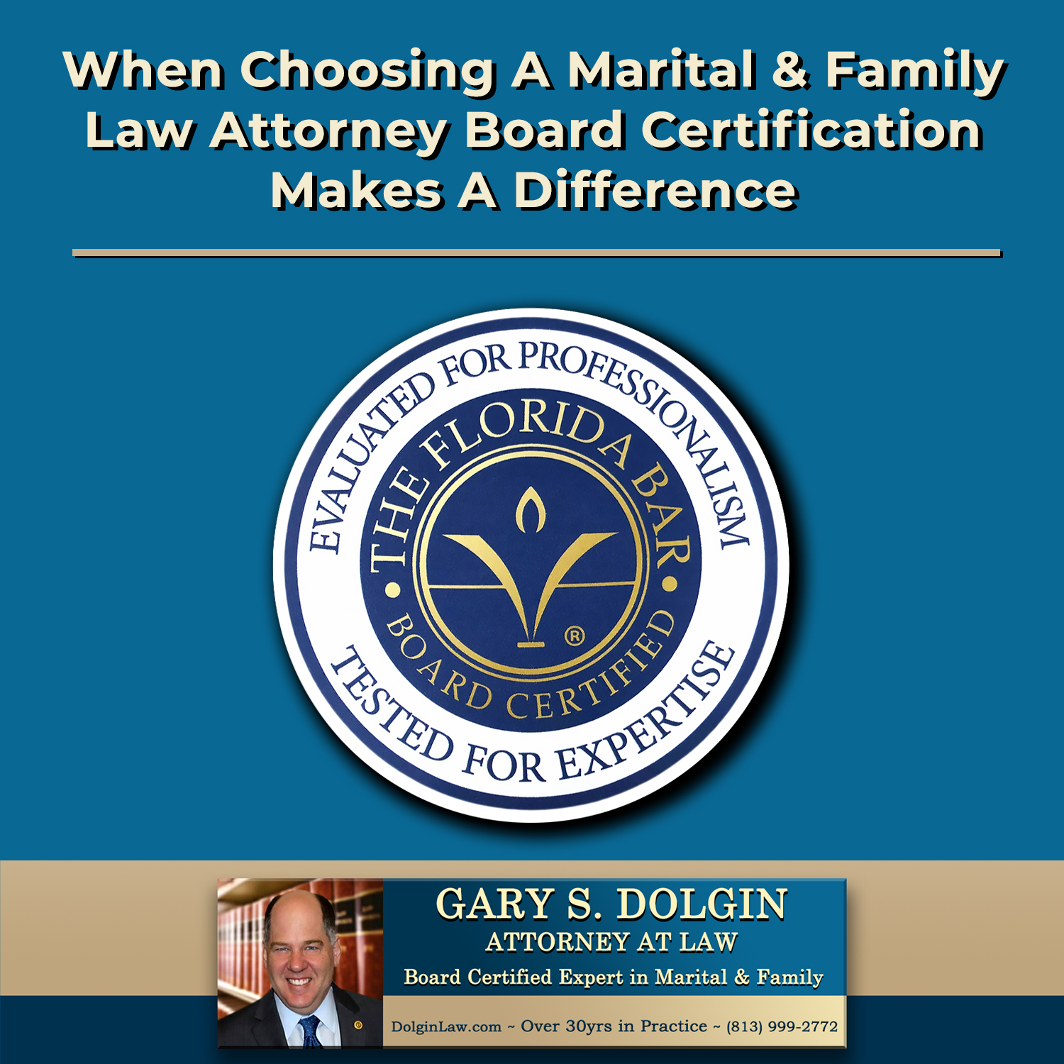 Board Certified Family Lawyer Tampa