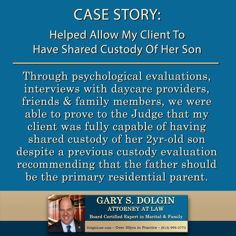 Child Custody Lawyer Tampa FL