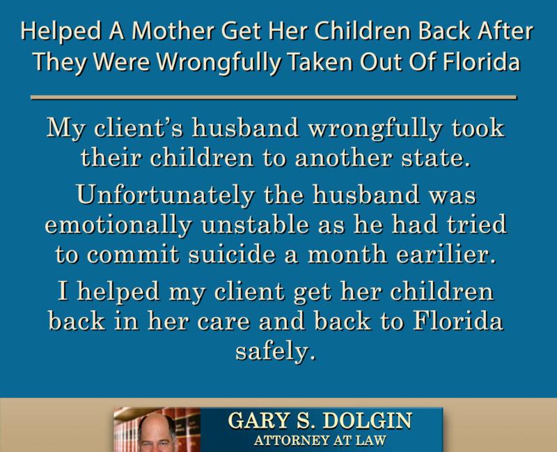 Tampa Child Custody Lawyer