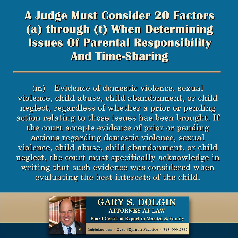 Tampa Child Custody Lawyer Gary Dolgin