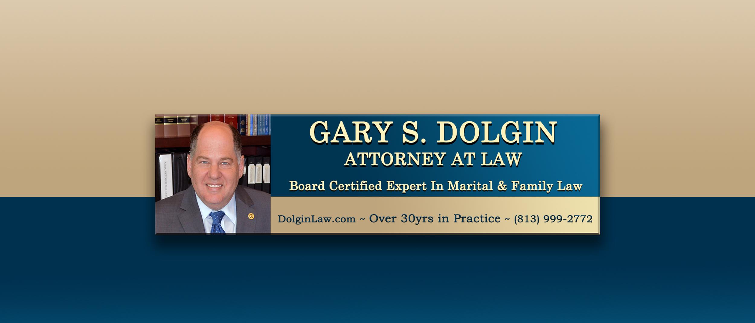 Best Divorce Attorney in Tampa Gary S Dolgin
