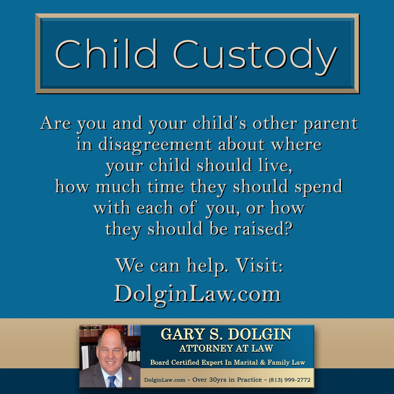 Child Custody Attorney in Tampa FL