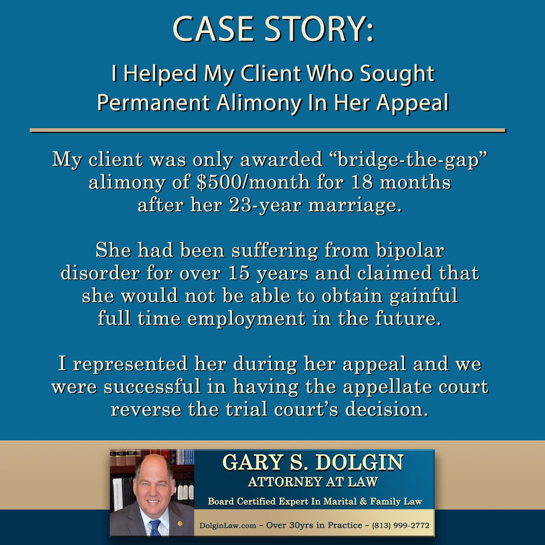 Alimony Attorney Tampa