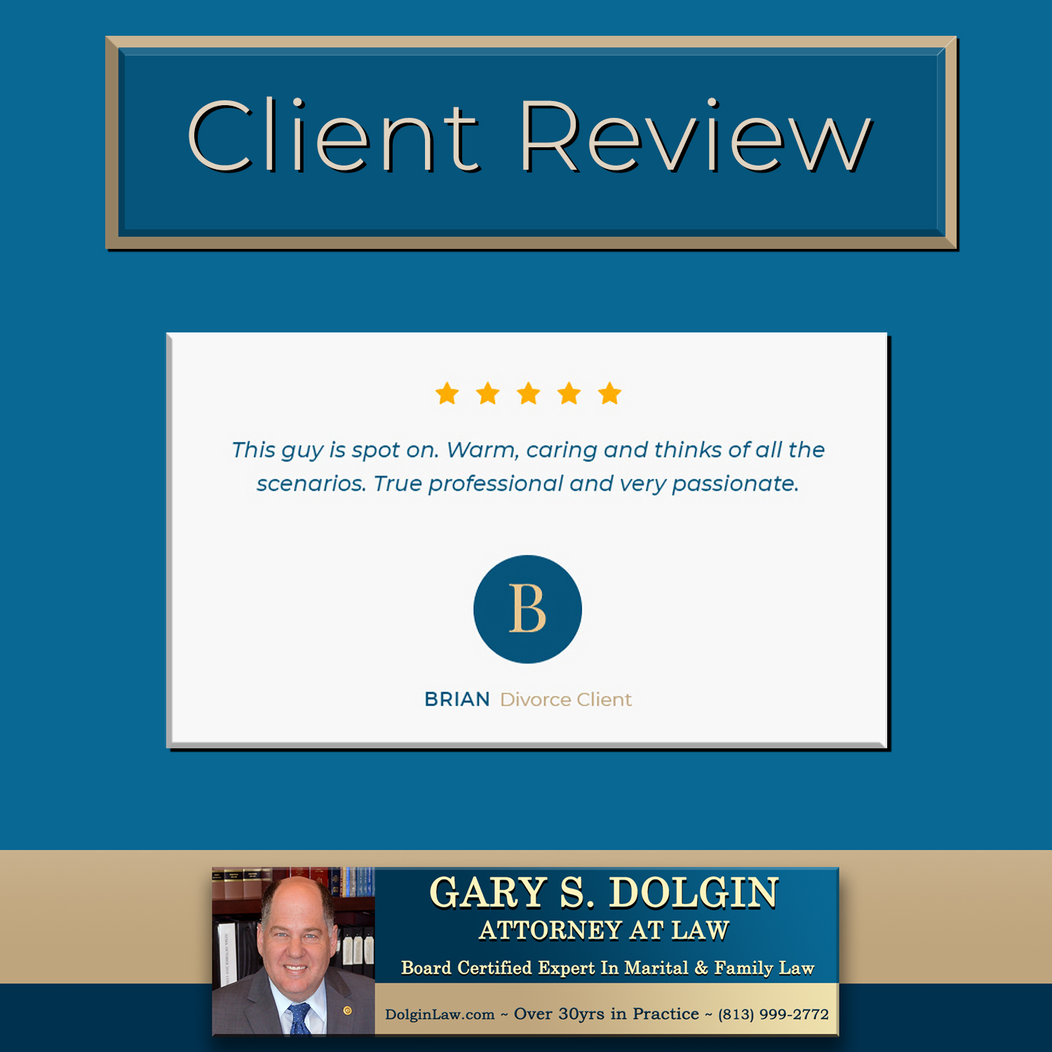 Family Attorney For Men Tampa